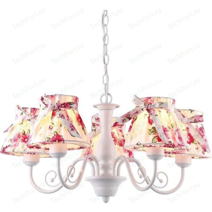 Подвесная люстра Arte Lamp A7021LM-5WH