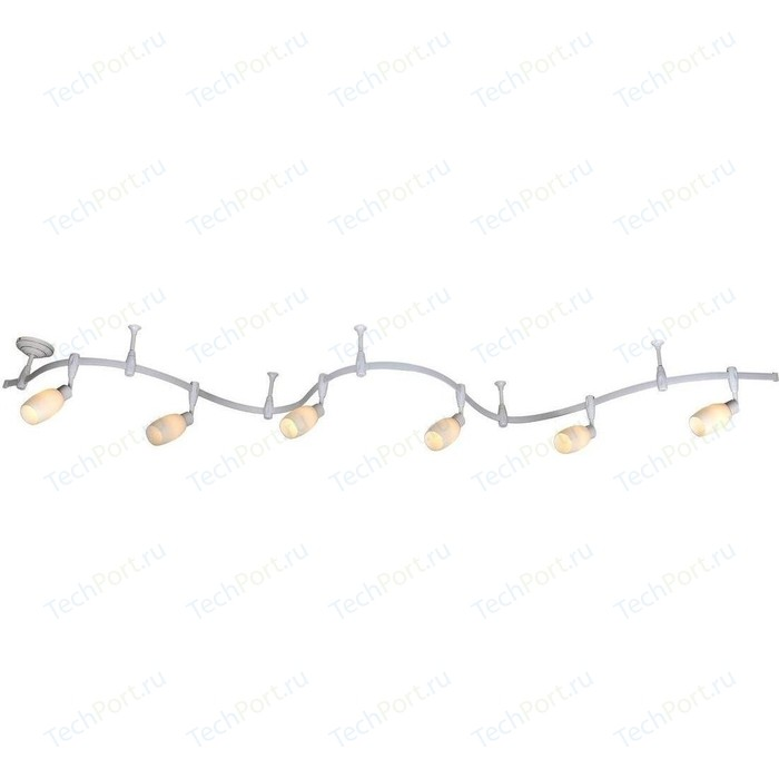 Трековая система Arte Lamp A3059PL-6WH
