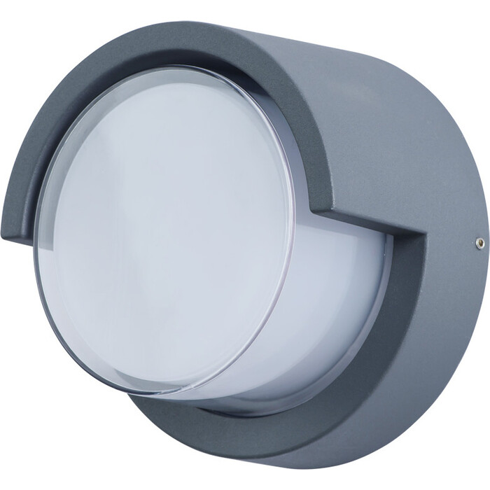 Уличный настенный светодиодный светильник Arte Lamp A8159AL-1GY