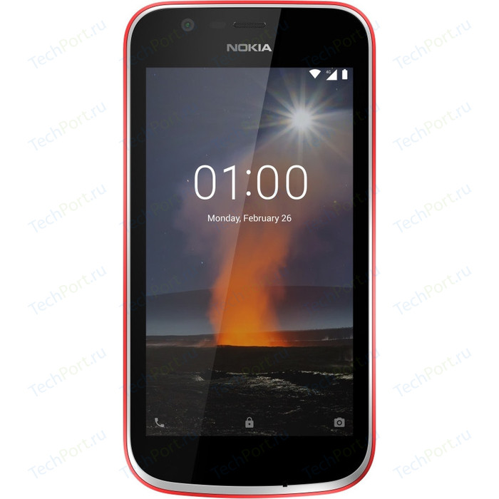 Смартфон Nokia 1 DS TA-1047 Warm Red red 1