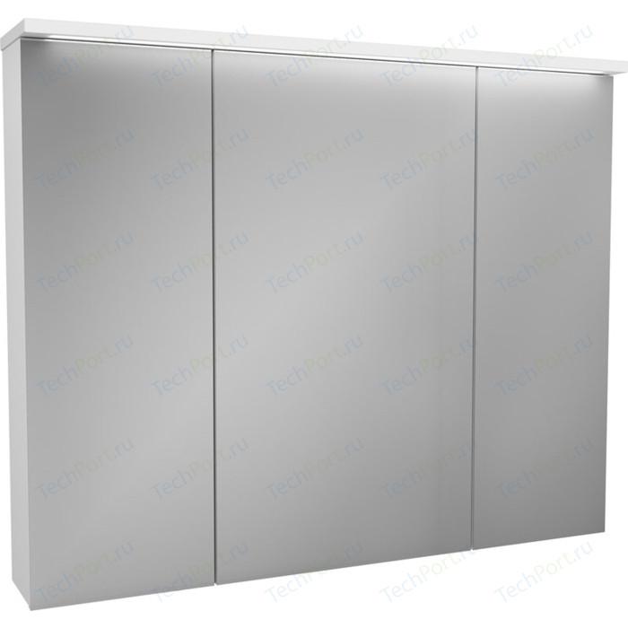 Зеркальный шкаф OWL 1975 Malaren 100x81 белый (OW03.13.05)