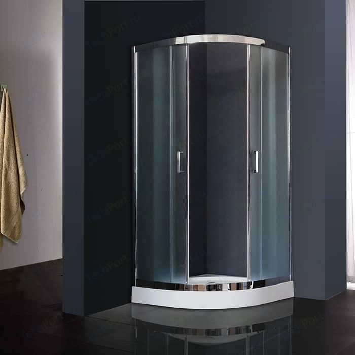 Душевой уголок Royal Bath HK 90х90х198 матовое (RB90HK-C-CH)