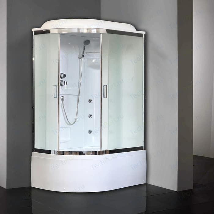 Душевая кабина Royal Bath BK2 120х80х217 стекло рифленое, правая (RB8120BK2-M-CH-R)