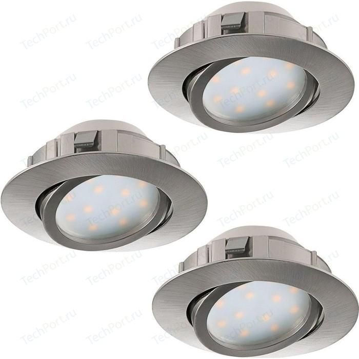 Встраиваемый светодиодный светильник Eglo 95859 встраиваемый светодиодный светильник eglo 61544