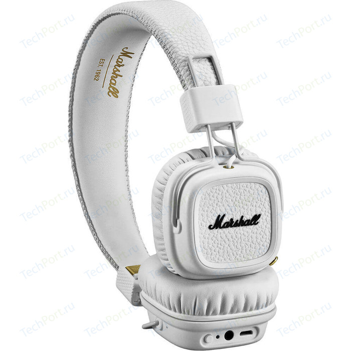 цена на Наушники Marshall Major III Bluetooth white
