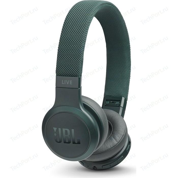Наушники JBL Live 400BT green