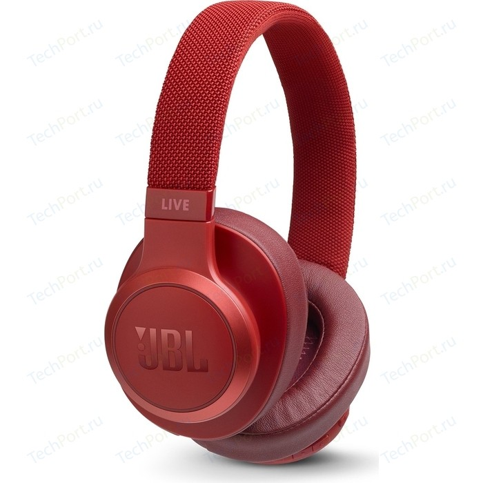 Наушники JBL Live 500BT red