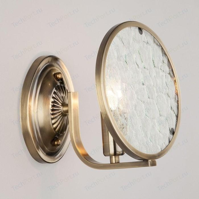 Бра Eurosvet 60073/1 античная бронза спот eurosvet 23463 1 хром античная бронза