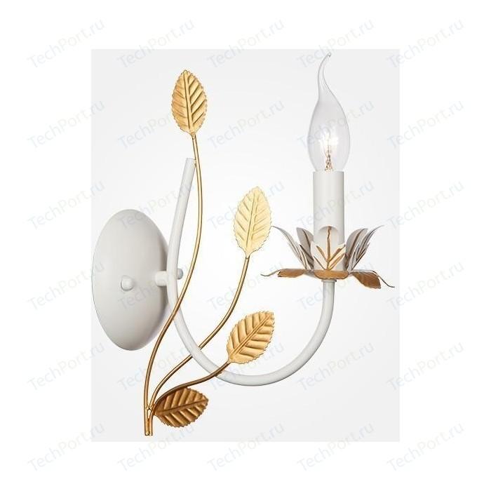 Бра Eurosvet 60023/1 белый с золотом настольная лампа eurosvet 01002 1 белый с золотом