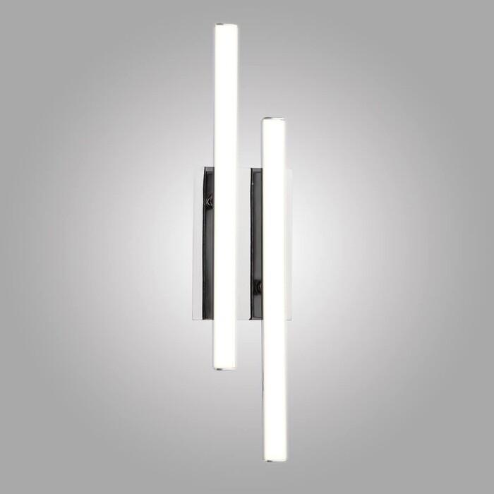 Настенный светодиодный светильник Eurosvet 90020/2 хром