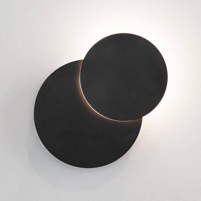 Настенный светодиодный светильник Eurosvet 40135/1 черный