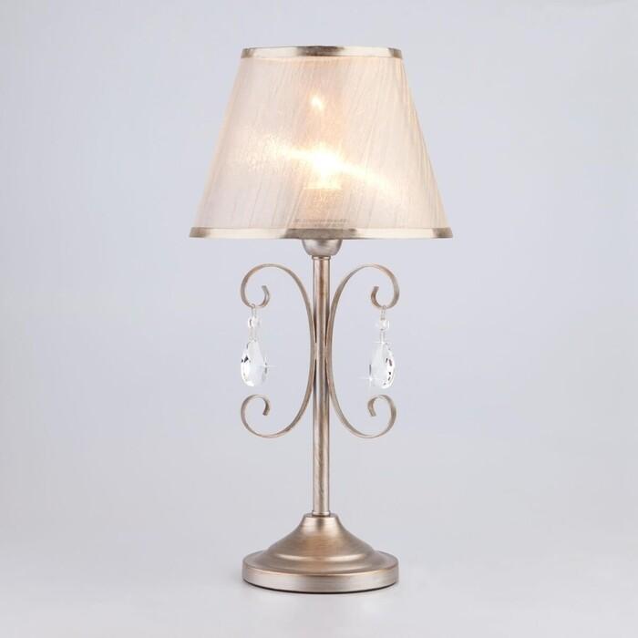 Настольная лампа Eurosvet 01051/1 серебро