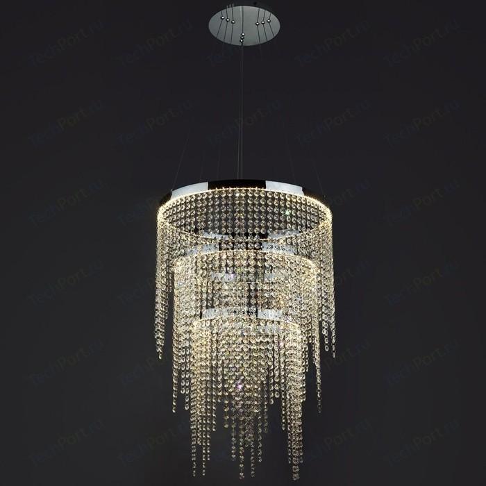 Подвесной светодиодный светильник Eurosvet 90050/3 хром
