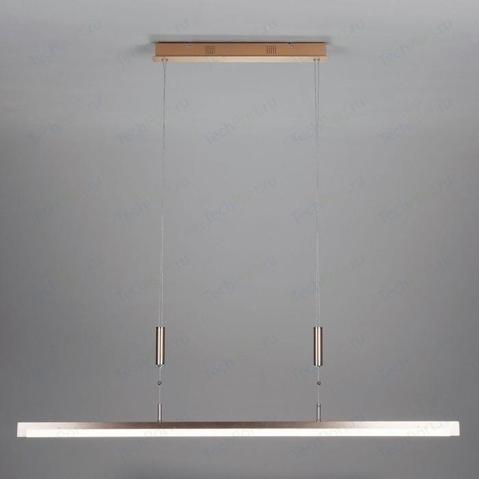 Подвесной светодиодный светильник Eurosvet 90030/1 золото