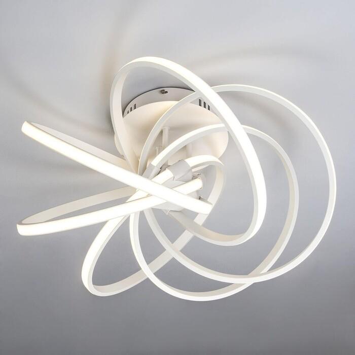 Потолочный светодиодный светильник Eurosvet 90044/6 белый