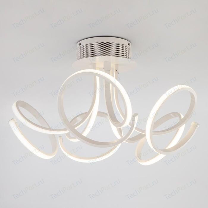 Потолочный светодиодный светильник Eurosvet 90111/5 белый