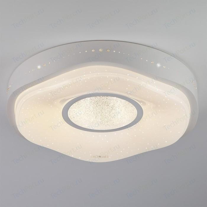 Потолочный светодиодный светильник Eurosvet 40011/1 LED белый