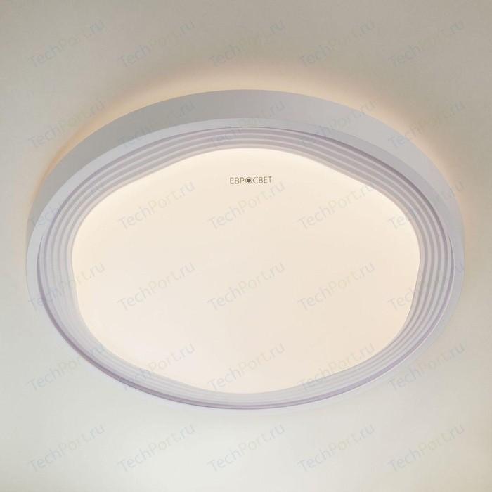 Потолочный светодиодный светильник Eurosvet 40006/1 LED белый