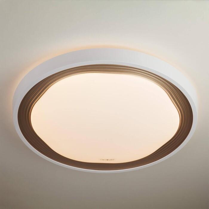 Потолочный светодиодный светильник Eurosvet 40006/1 LED кофе