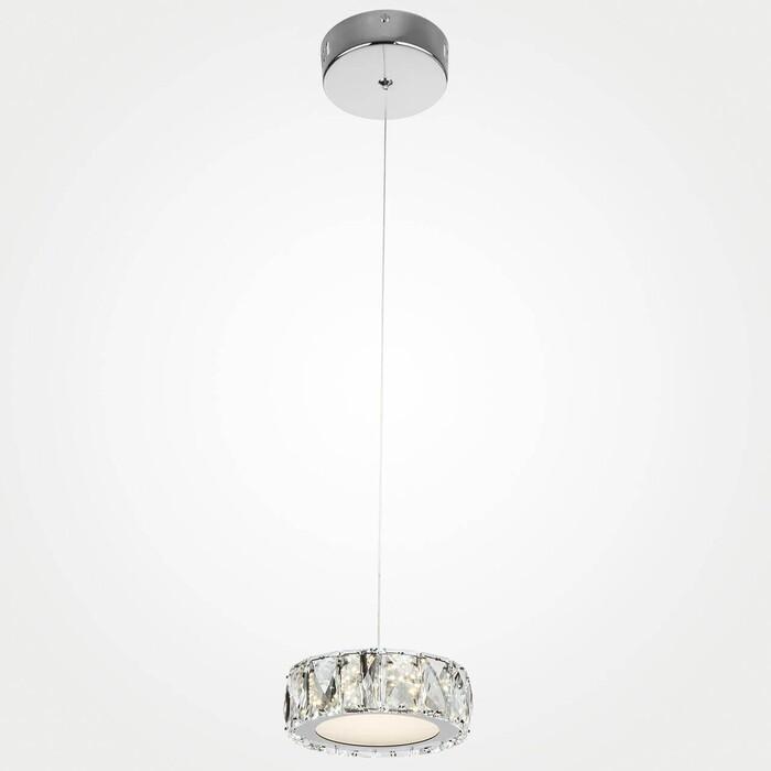 Подвесной светодиодный светильник Eurosvet 90048/1 хром