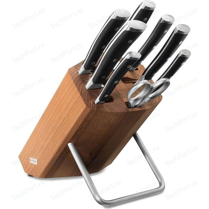 Набор кухонных ножей 9 предметов Wuesthof Classic Ikon (9882 WUS)