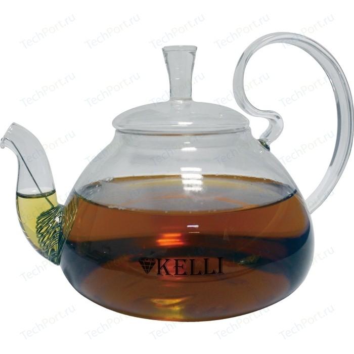 Заварочный чайник 0.6 л Kelli (KL-3079) чайник 3 л kelli kl 4336