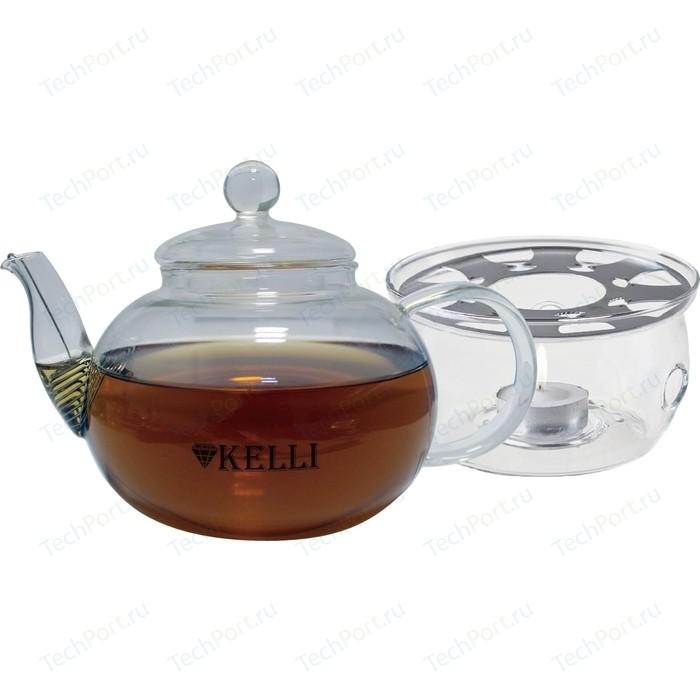 Заварочный чайник 0.6 л Kelli (KL-3092) чайник 3 л kelli kl 4336