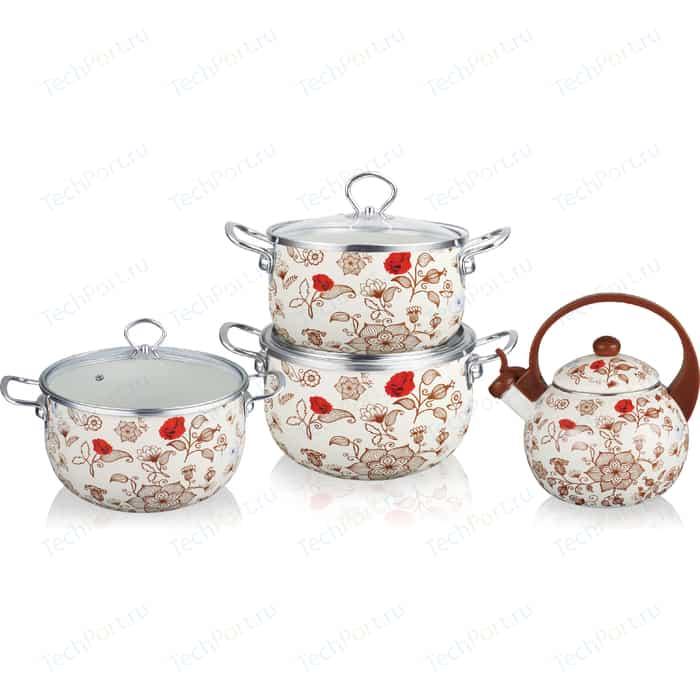 Набор посуды 7 предметов Kelli (KL-4458)