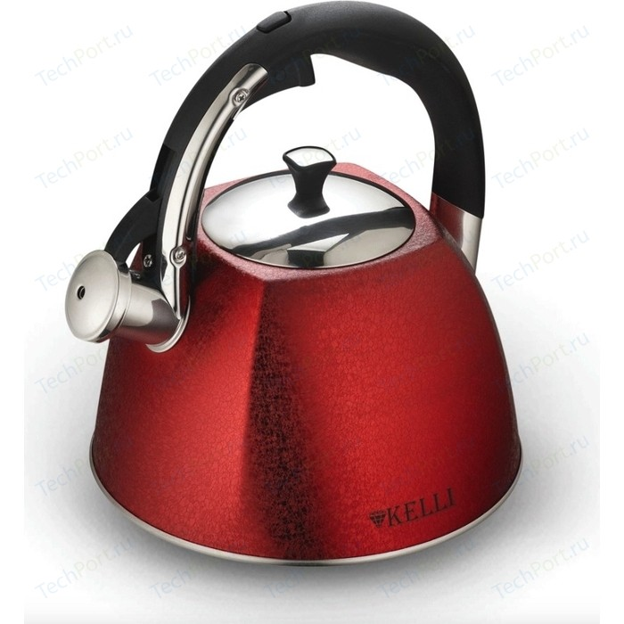 Чайник 3 л Kelli (KL-4514 красный)