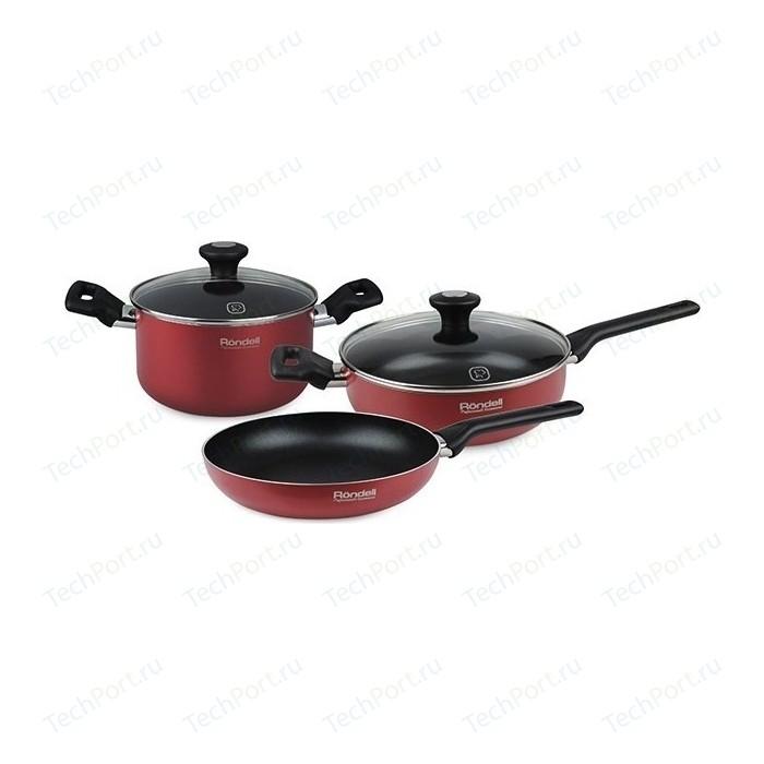 Набор посуды 5 предметов Rondell Koralle (RDA-887)