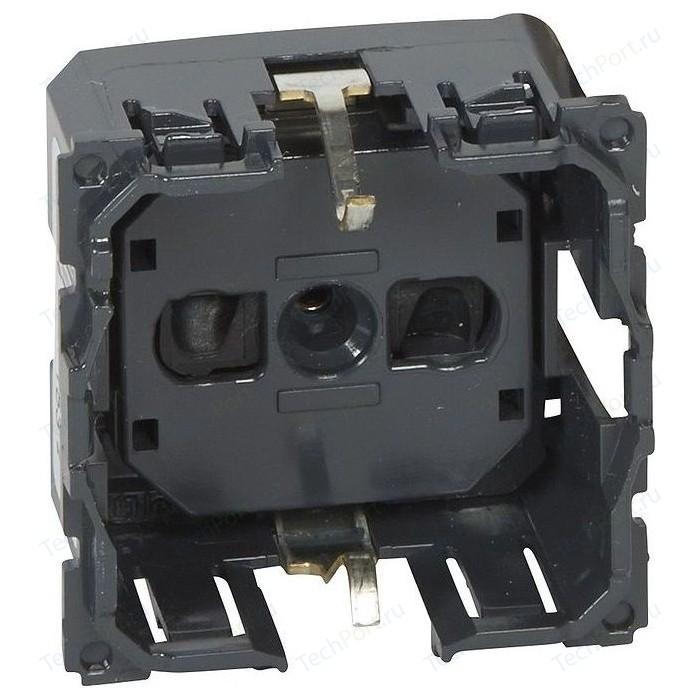 Розетка с защитными шторками Legrand СП Celiane 2P+E немецкий стандарт безвинтовые зажим. (067153)