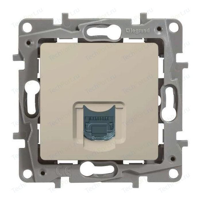 Розетка информационная Legrand СП Etika RJ45 CAT.5 UTP слоновая кость (672341)