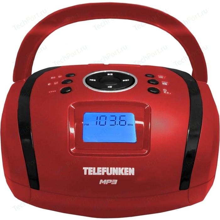 Магнитола TELEFUNKEN TF-SRP3449 red магнитола telefunken tf srp3446