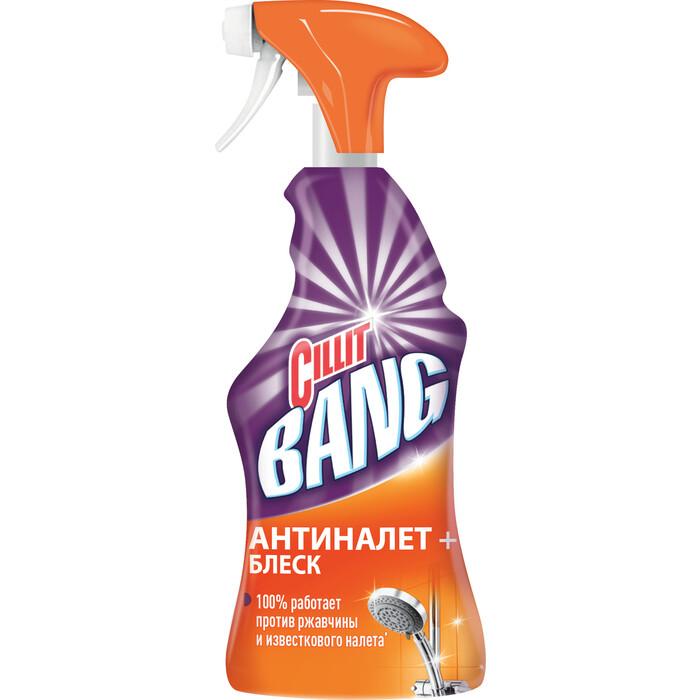 Чистящее средство Cillit BANG Антиналет+Блеск (с курком) 750 мл