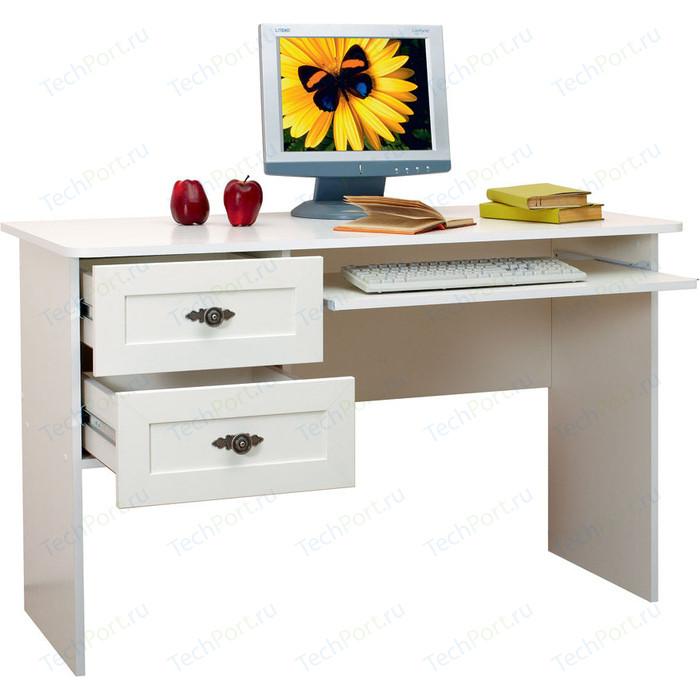 Стол для компьютера Сильва НМ 009.19-02 прованс белый