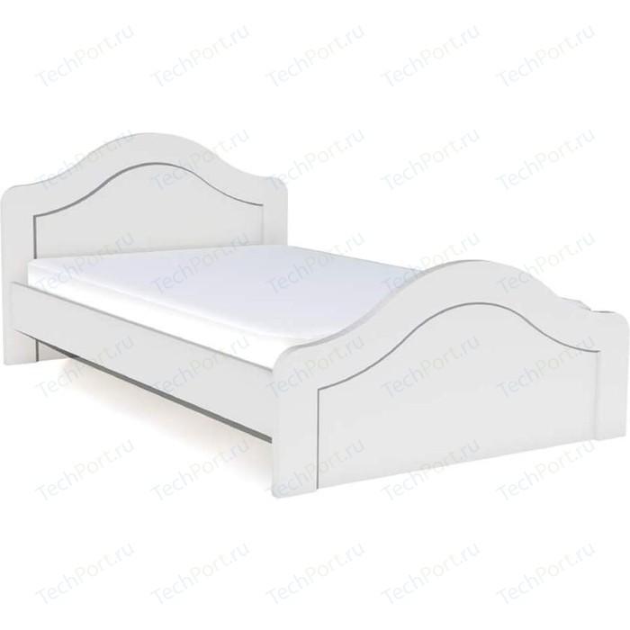 Кровать Сильва НМ 14.44 прованс белый
