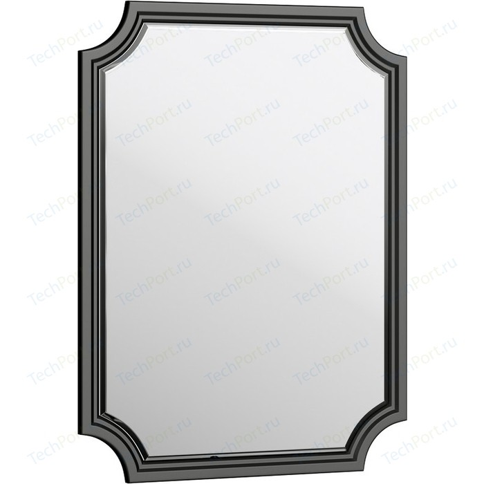 Зеркало Aqwella 5 Stars LaDonna 72x95 черное (LAD0207BLK)