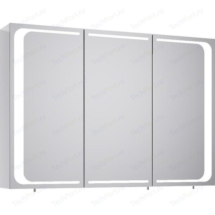 Зеркальный шкаф Aqwella 5 Stars Milan 100x70 белый (Mil.04.10)