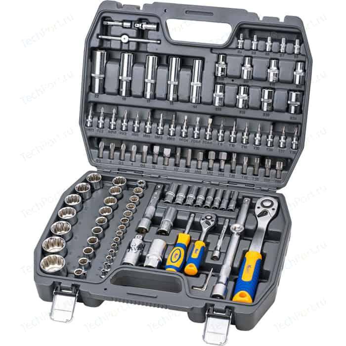 Набор инструментов Kraft 1/2 Dr и 1/4 108 предметов с головками (KT 700680)