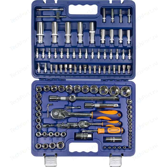 Набор инструмента HELFER 1/2Dr и 1/4Dr 108 предметов (HF000012)