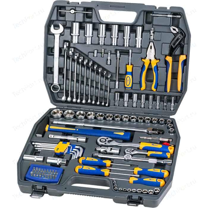 Набор инструментов Kraft 1/2 Dr и 1/4 120 предметов (KT 700679)