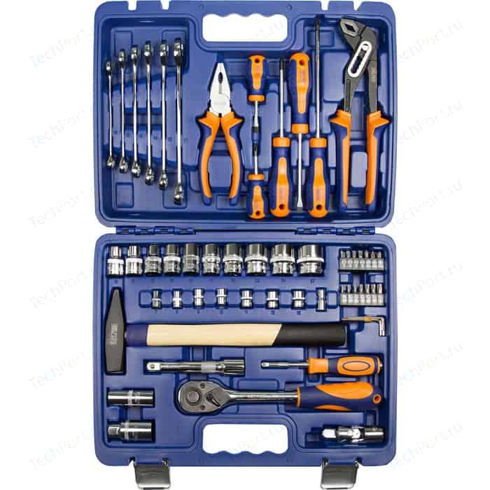 Набор инструмента HELFER 1/2Dr и 1/4Dr 56 предметов (HF000013)