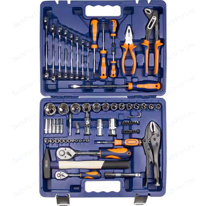 Набор инструмента HELFER 1/2Dr и 1/4Dr 72 предмета (HF000014)