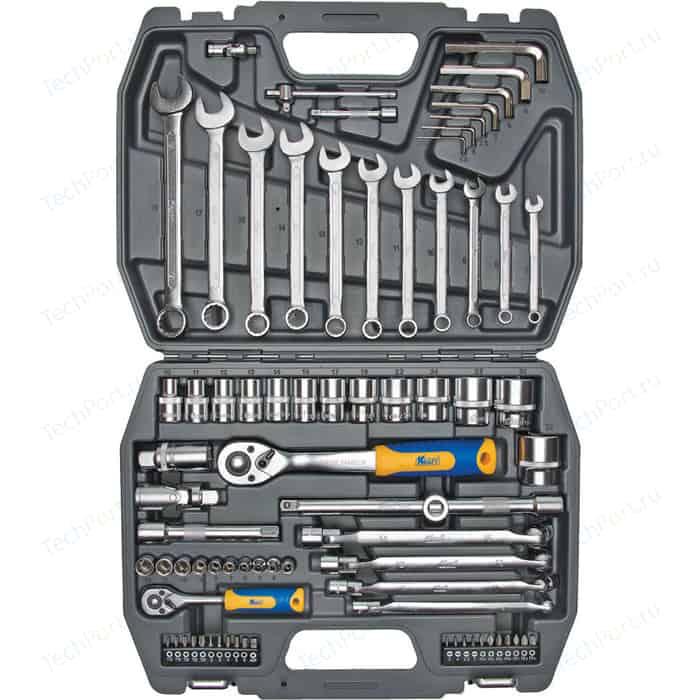 Набор инструментов Kraft 1/2 Dr и 1/4 77 предметов (KT 700304)