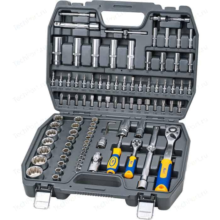 Набор инструментов Kraft 1/2 Dr и 1/4 94 предмета с головками (KT 700682)