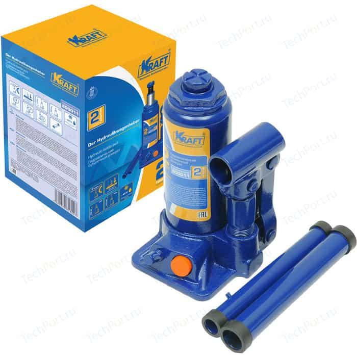 Домкрат бутылочный гидравлический Kraft 2т 160-310мм (KT 800011)