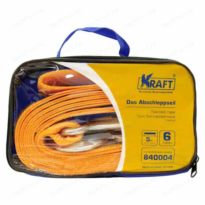 Трос буксировочный Kraft 2м, 6т (KT 840004)