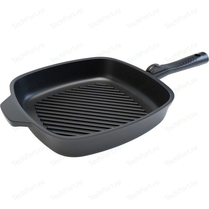 Сковорода-гриль НМП 28см Ферра Индукция (НМП 59428G)