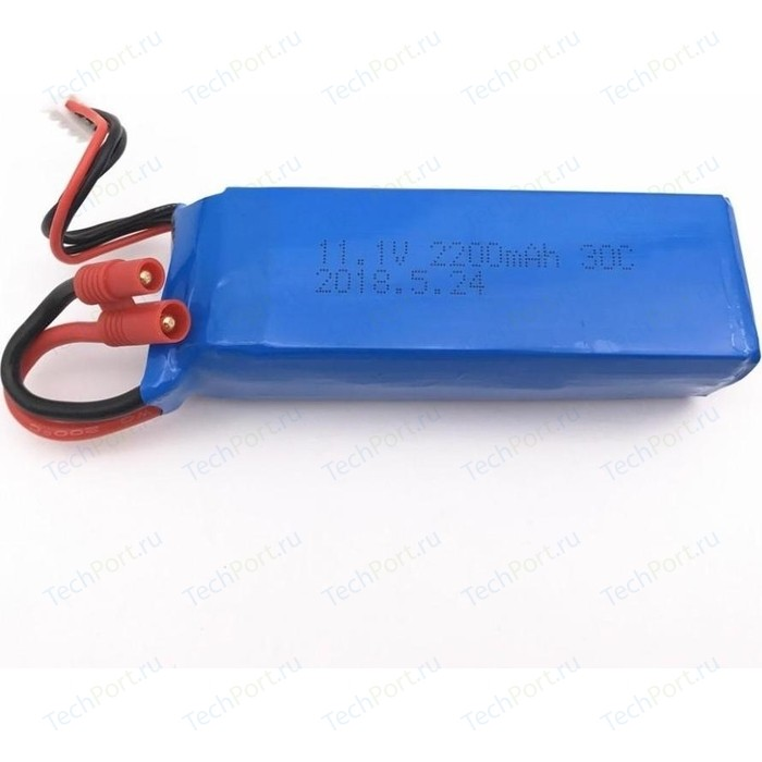Аккумулятор LJ Battery Li-Po 11.1v 2200mah Banana XH-4P Plug - LIPO-111-2200-BANANA