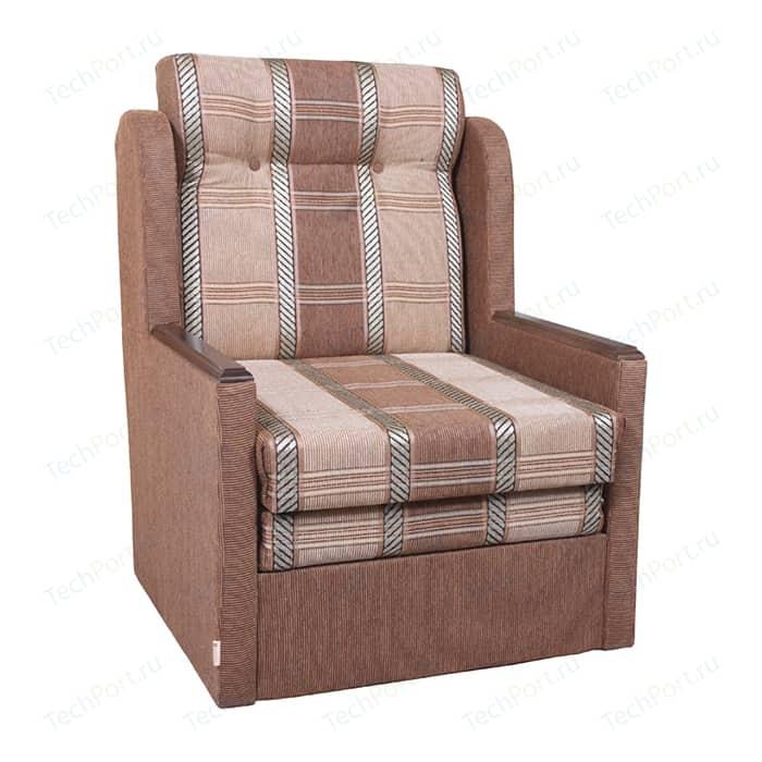 Кресло-кровать Шарм-Дизайн Классика Д шенилл светло коричневый кресло шарм дизайн классика д шенилл коричневый